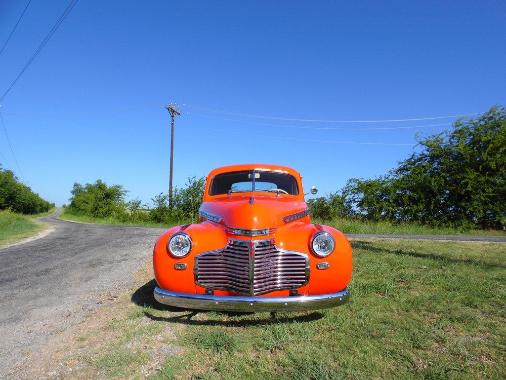 1941Chevy Restomod - Texoma Vintage & Classic Car Club - Class Award