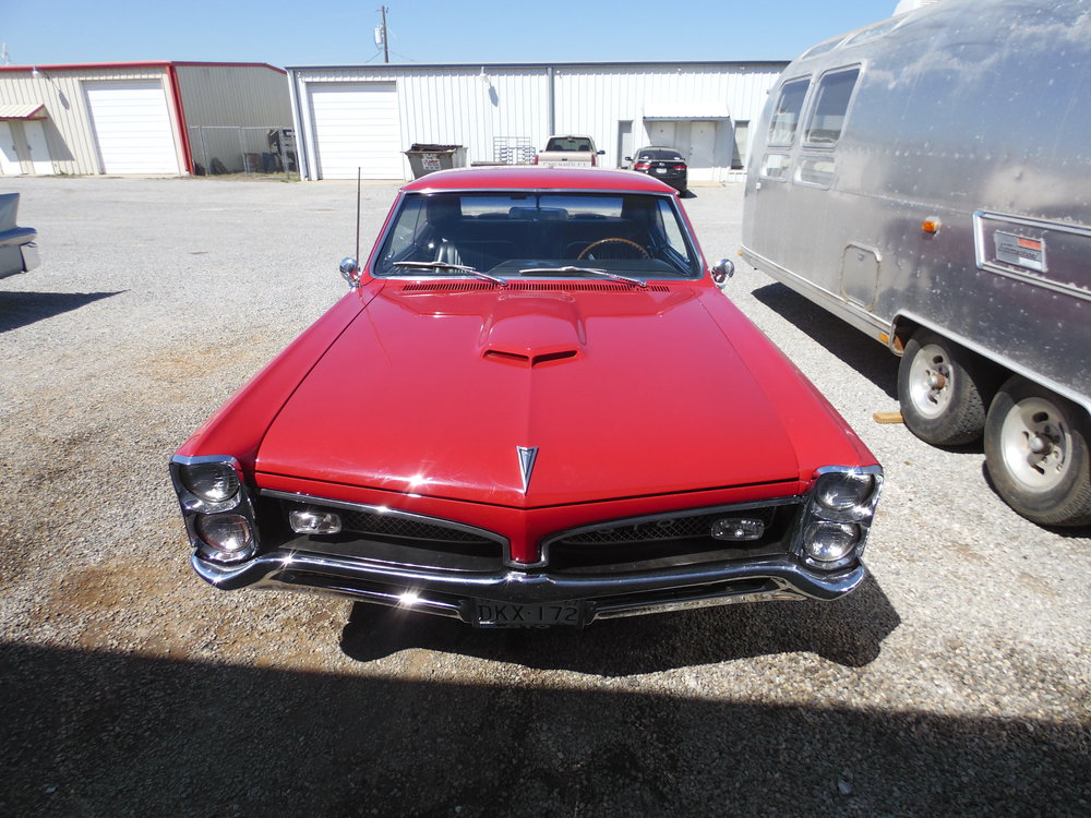 1967Pontiac GTO - 2017 Texoma Vintage & Classic Car Club - Class Award