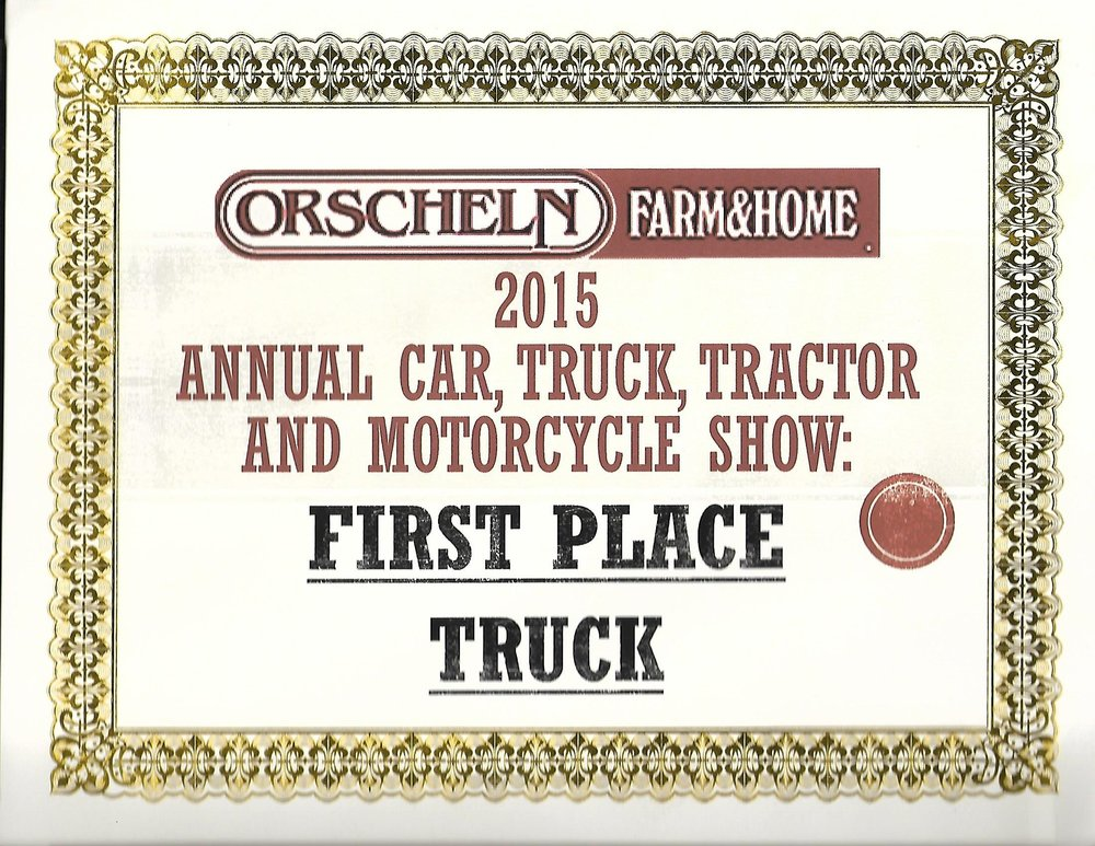 Orscheln Farm & Home Award