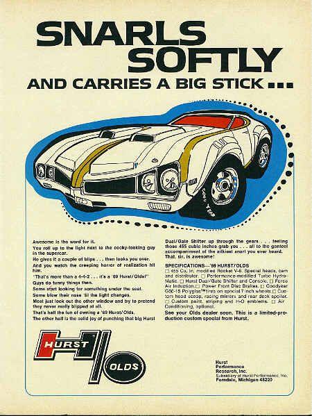 Oldsmobile 442 Cutlass ad