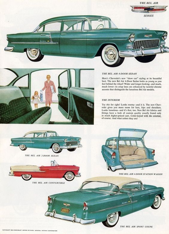 1955 Bel Air ad