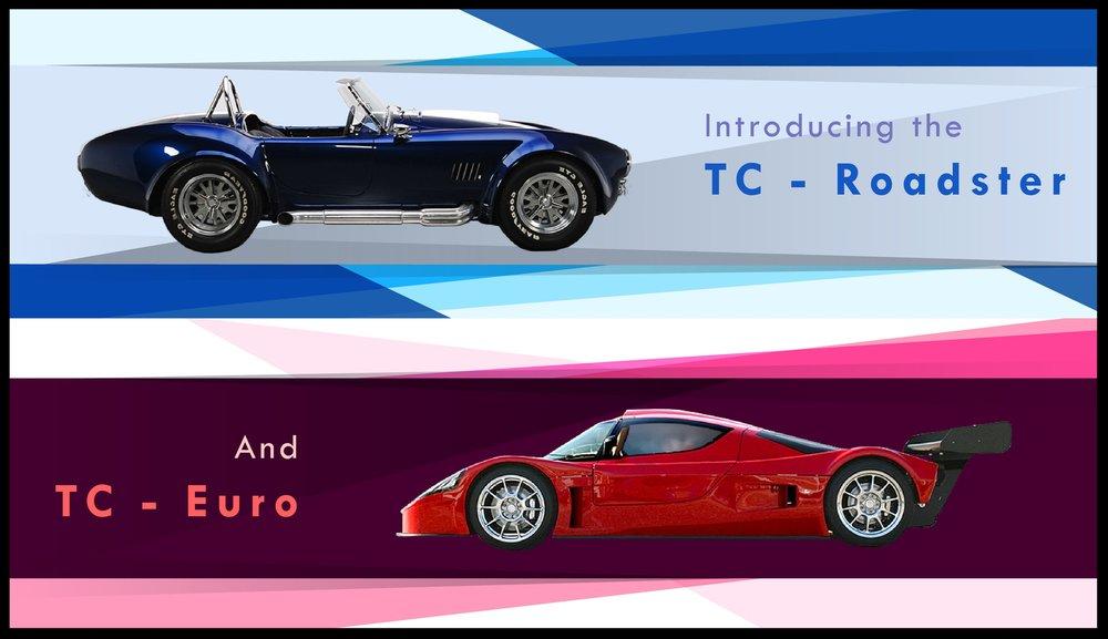 TC Roadster and TC Euro