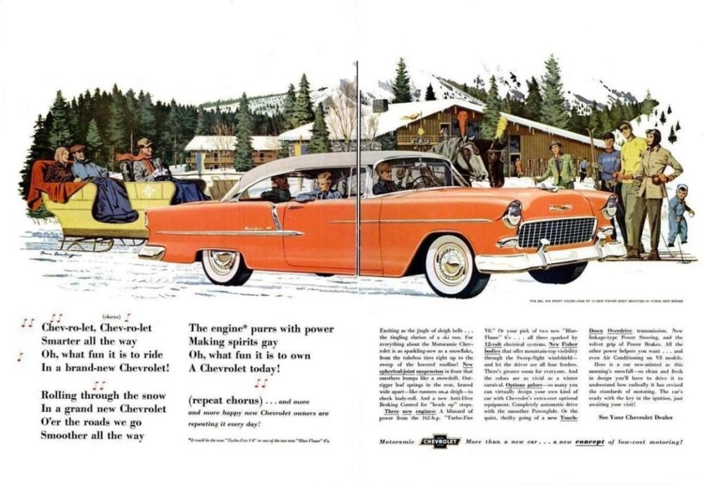 1955 Chevrolet Two-Ten ad