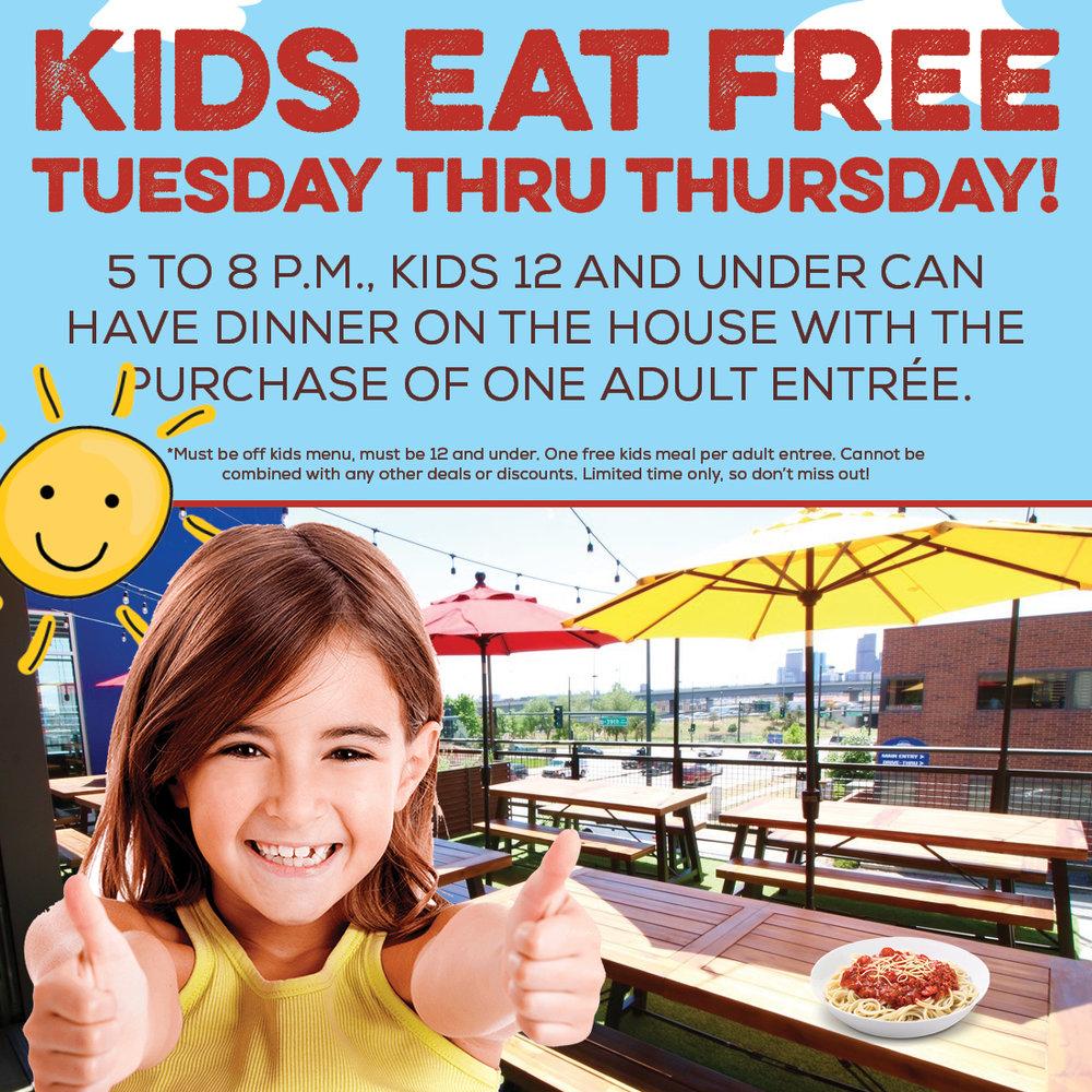 Kids Eat Free Denver
