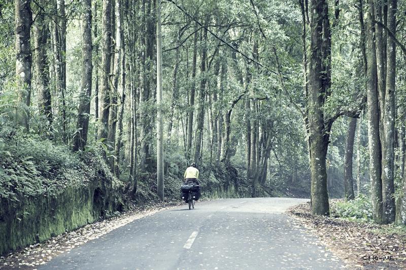 Travel on bicycle Taken on May 19, 2014 - Kintamani - Bali - Indonesia