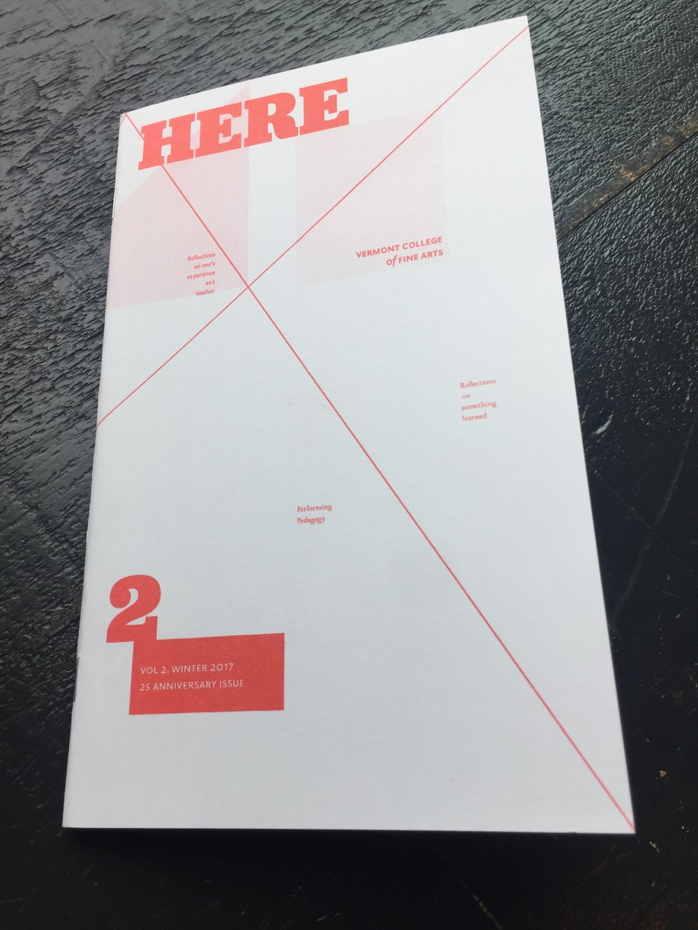 Cover of HERE 2 designed by  Silas Munro