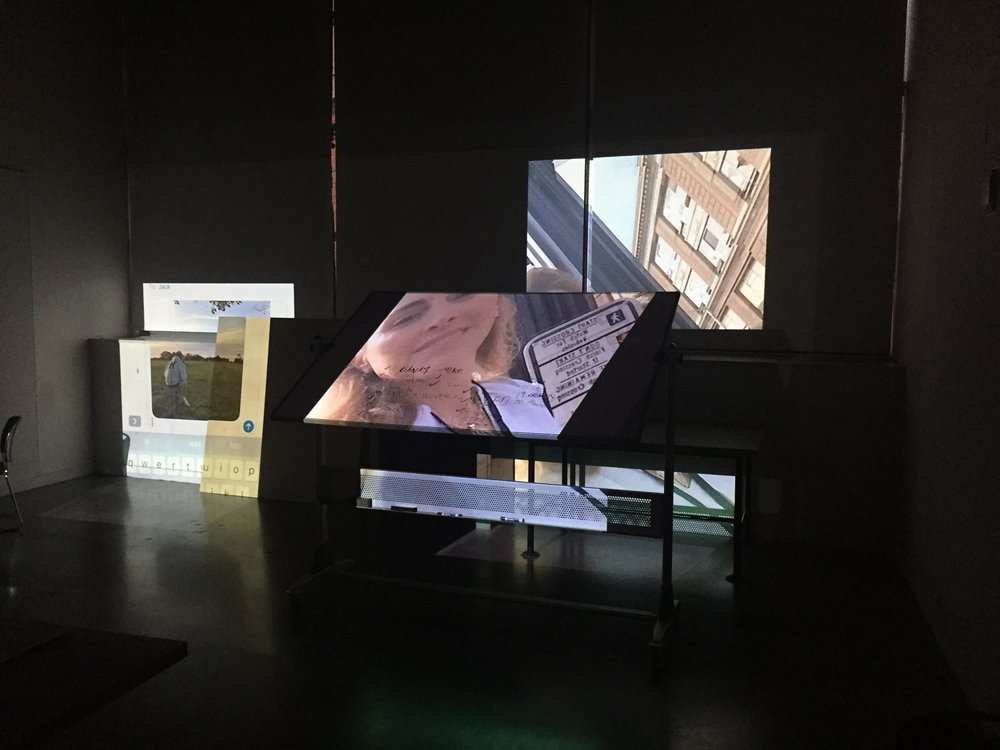Video Installation by RISD student Elizabeth Mullaney GD '21