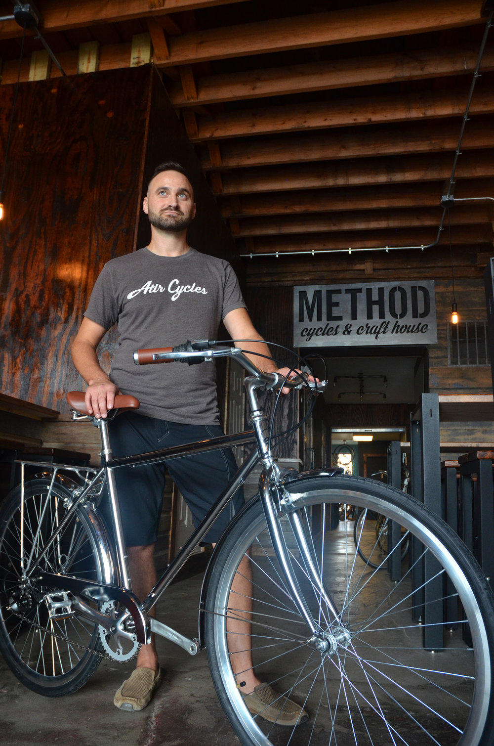 Method Cycles and Craft House - Bike Raffle Owners Jason Brummels and Sarah Dunbar have donated a beautiful Atir Cycle City 8-speed Bike. It will be sized to fit the winner and available in Black or Chrome. $499 Retail Price with a lifetime warranty on frame and fork. Visit the Method website: https://methodcycles.com/