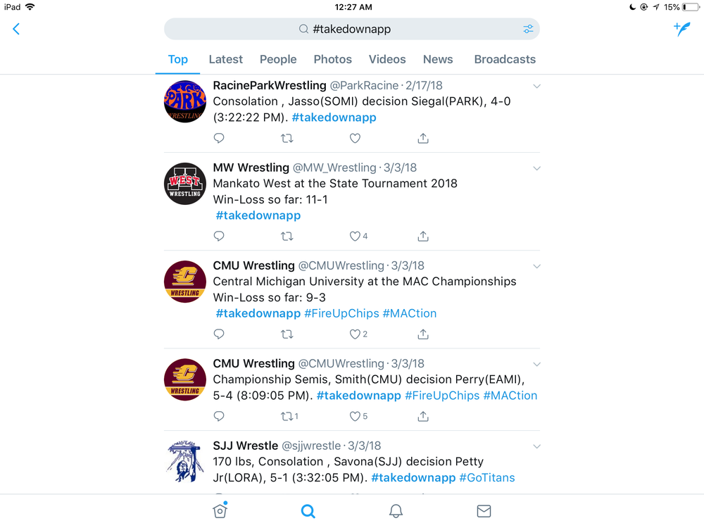 Twitter Timeline Example
