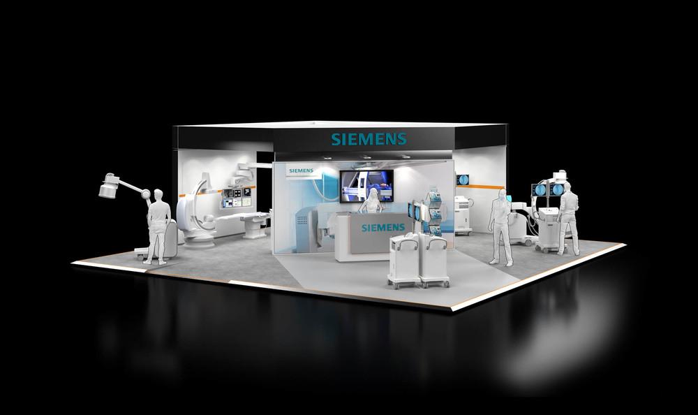 Exhibition Stand Visualisation : Siemens health exhibition stand u2014 dave bowcutt ltd