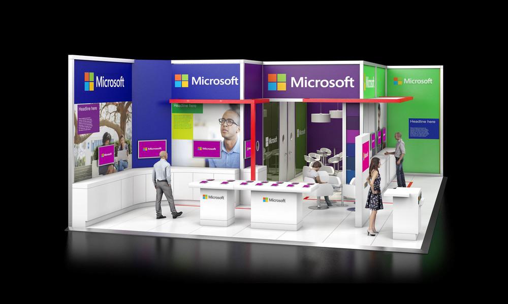 Exhibition Stand Visuals : Exhibition stand design d visuals — dave bowcutt ltd