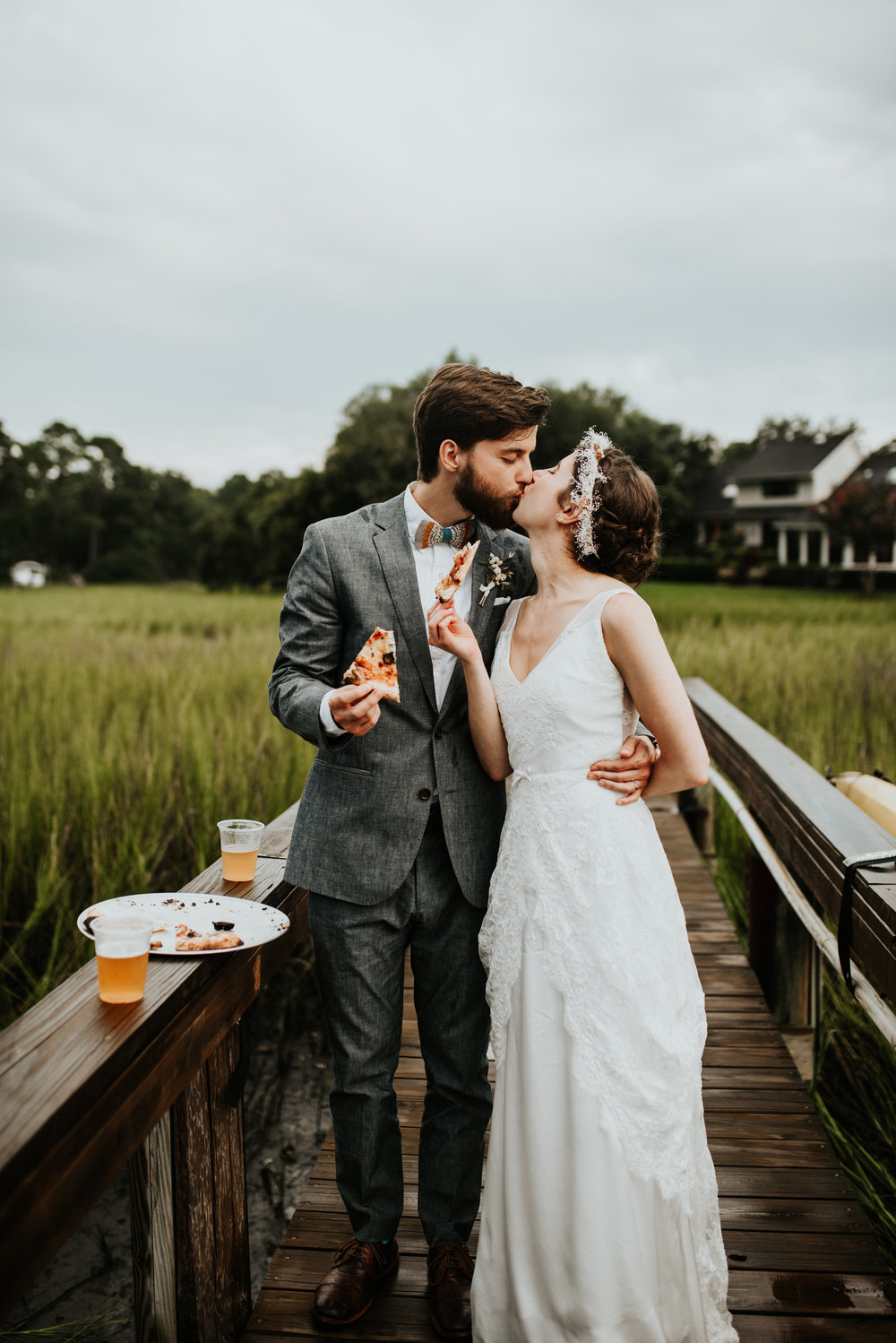 Charleston Pizza Wedding