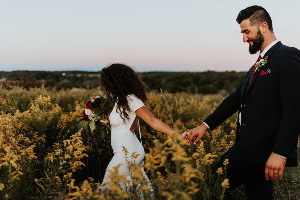 Wildflower Pennsylvania Wedding