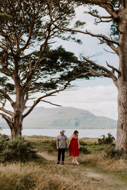 Ireland Killarny National Park Engagement