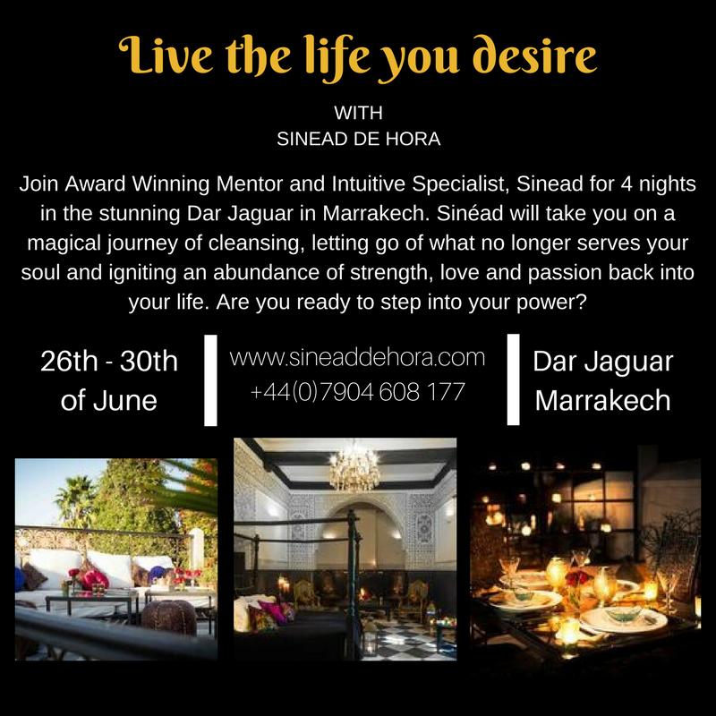 sineaddehora - live the life you desire retreat