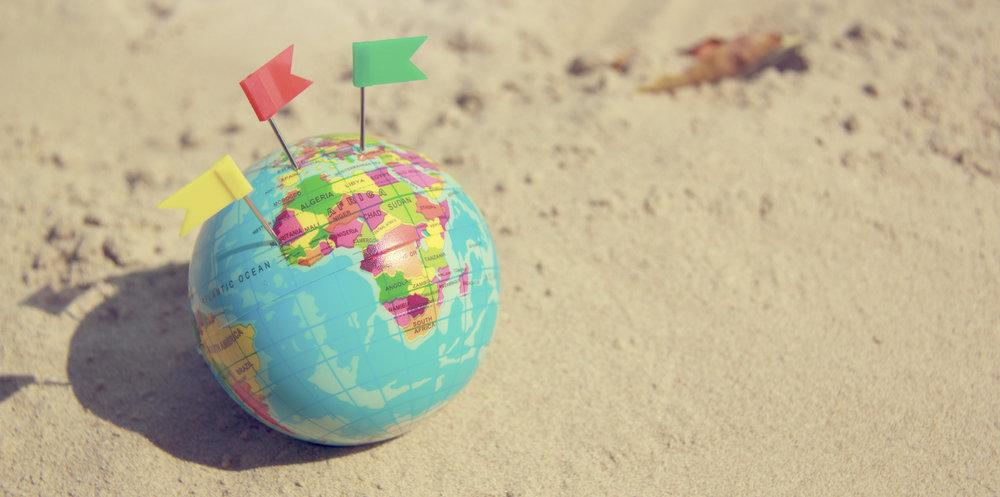 MAP OF THE WORLD. #SINEADDEHORA