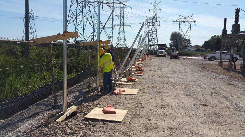 Goodings Grove Substation Security Enhancements