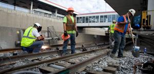 Red Line Dan Ryan Track Renewal
