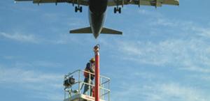 North Airfield Runway 9-L 27R Navaids O'Hare International Airport