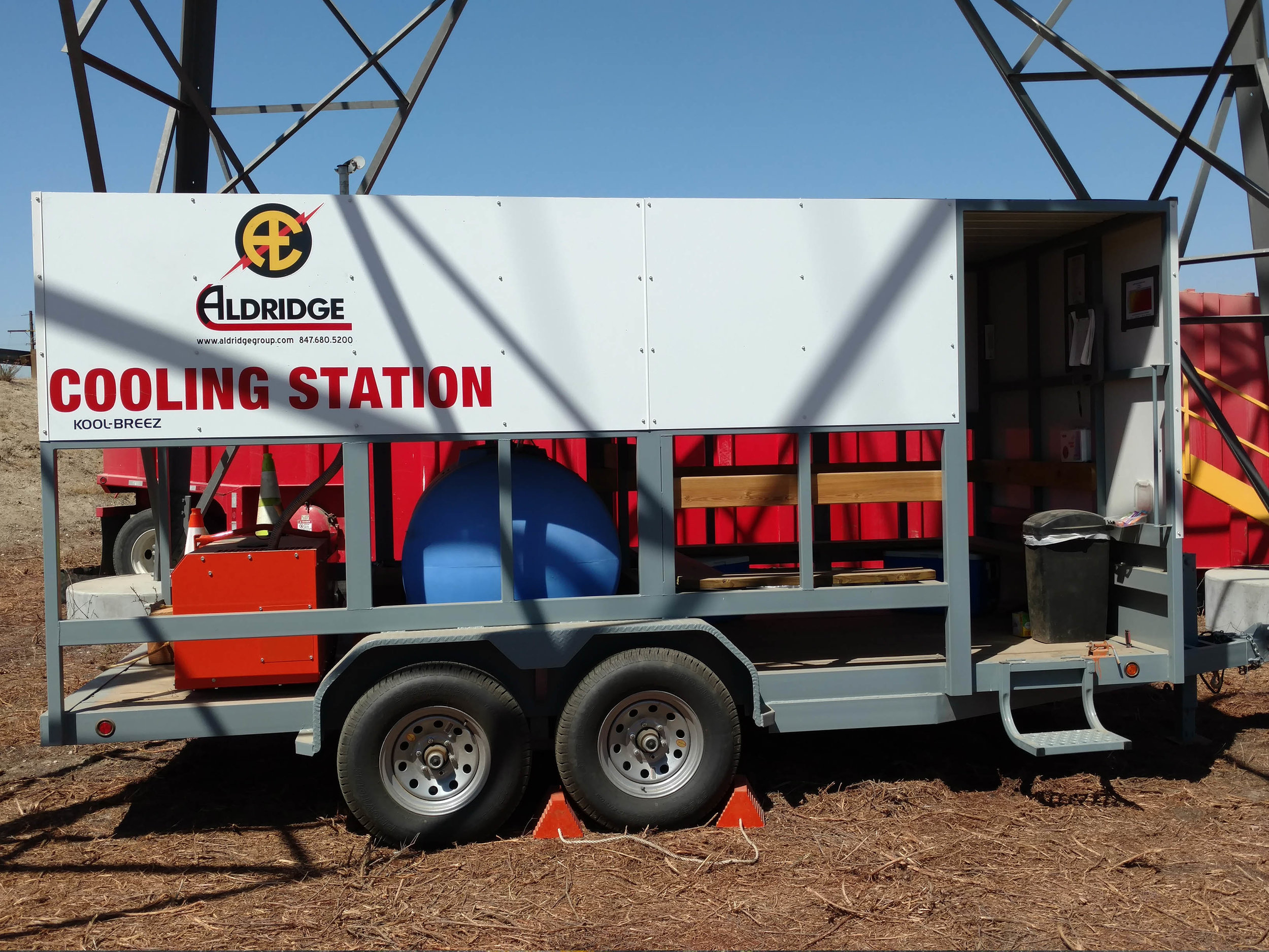 Employment blow job trailer