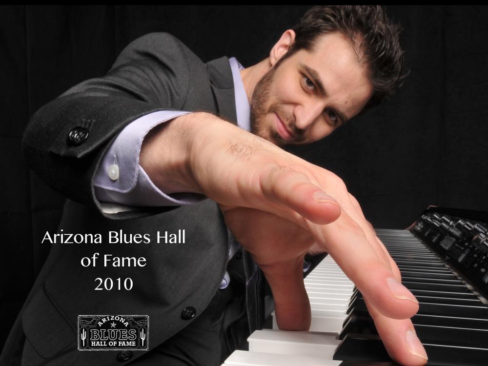 Arthur Migliazza AZ Blues Hall of Fame