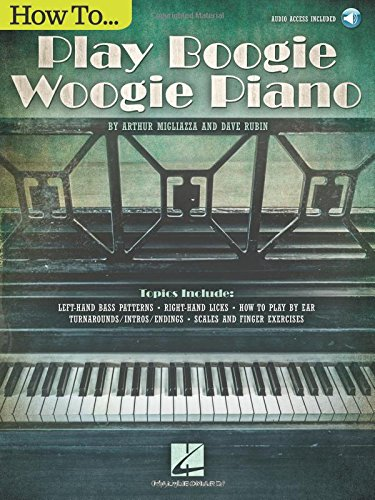 Learn Boogie Woogie Piano with Arthur's book!