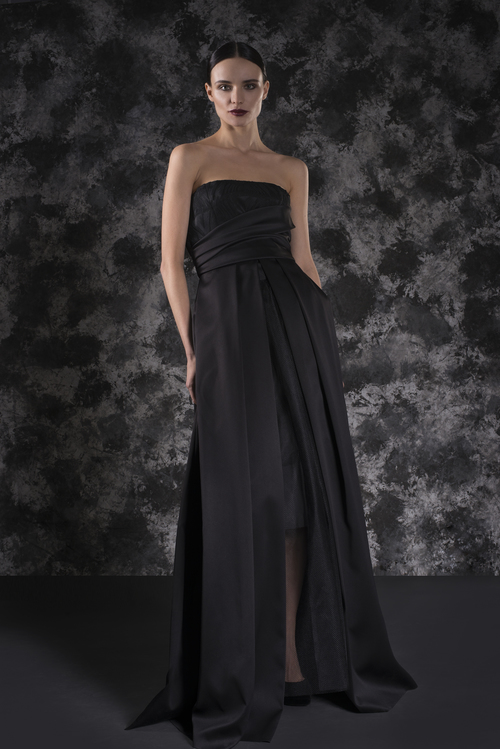 Novelty High-low Ballgown