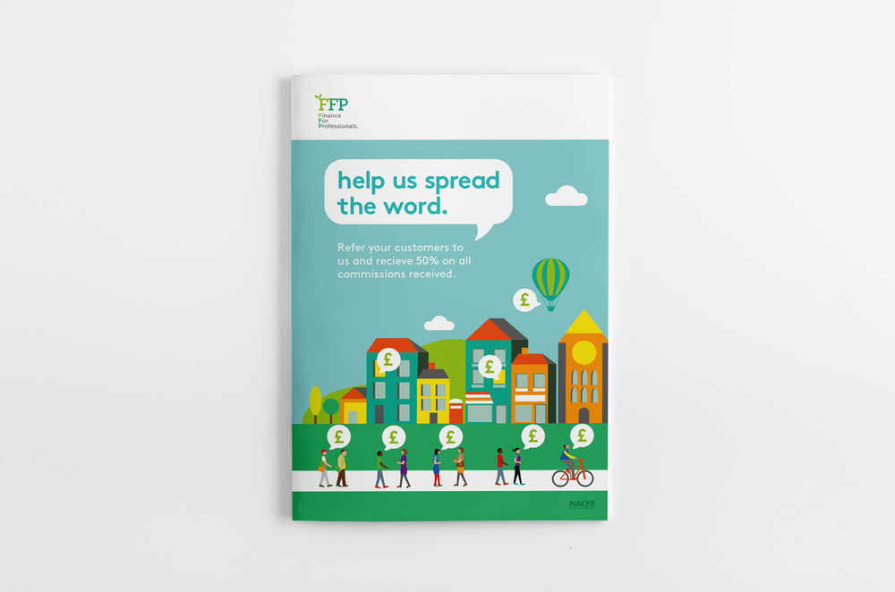 Finance for professionals brochure design