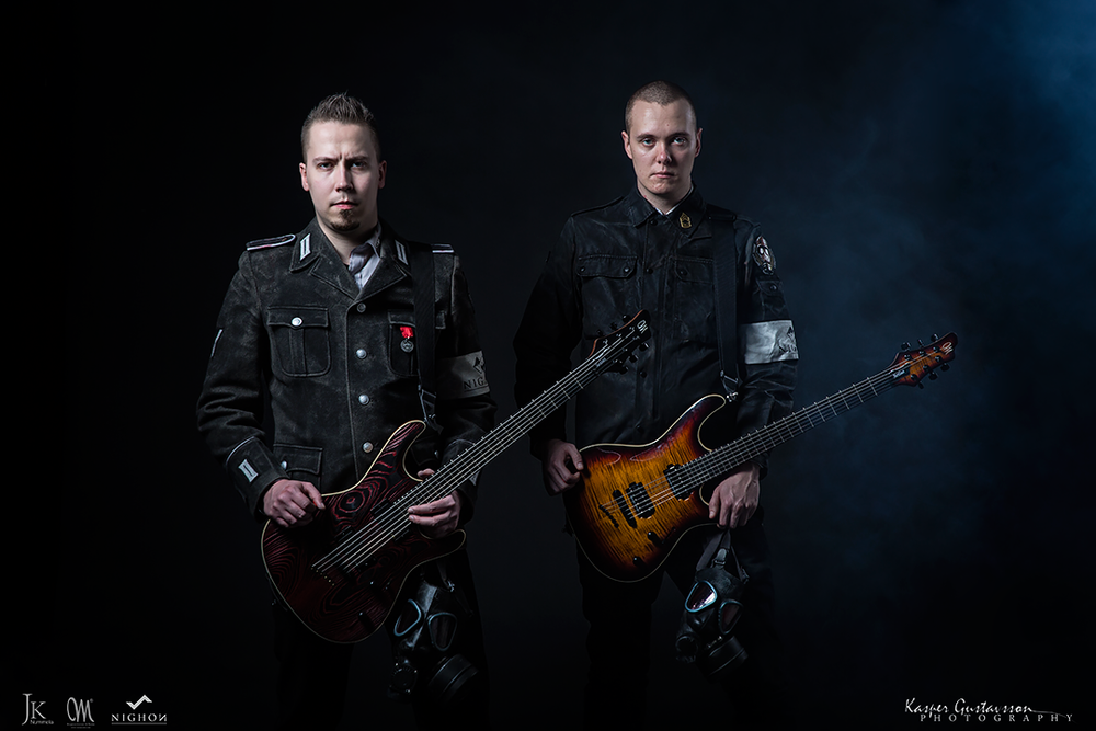 Mayones Guitars Promo Photos