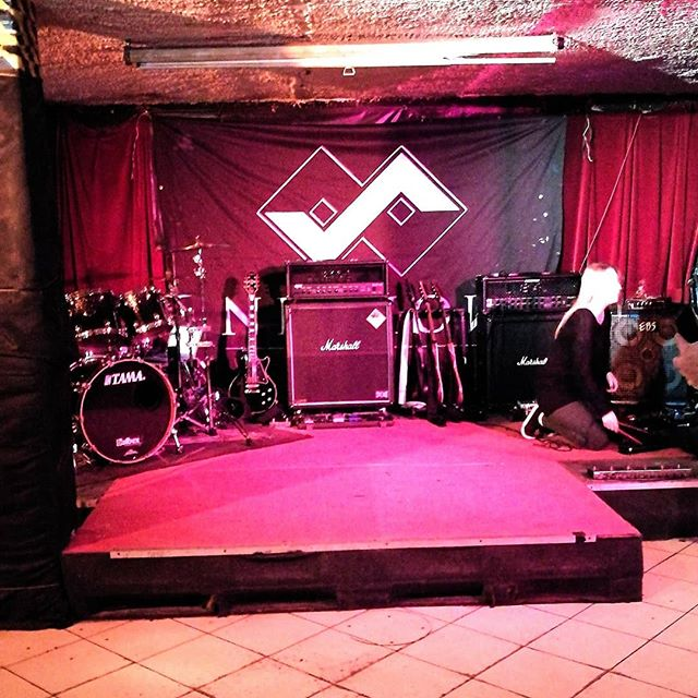Soon ready for Metal Cave, Warsaw, Poland! See you tonight 🤘🔥 #nighon #metal #music #live #poland #warsaw #metalcave