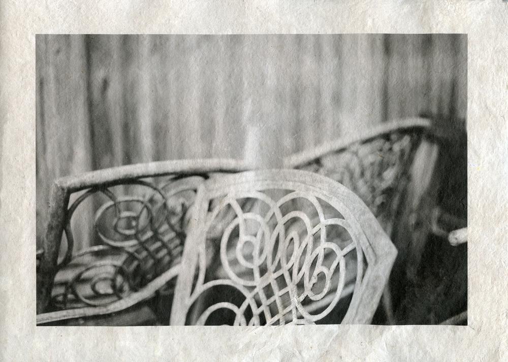 Inkjet print on handmade paper