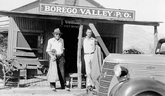 Borrego PO, est. 1928