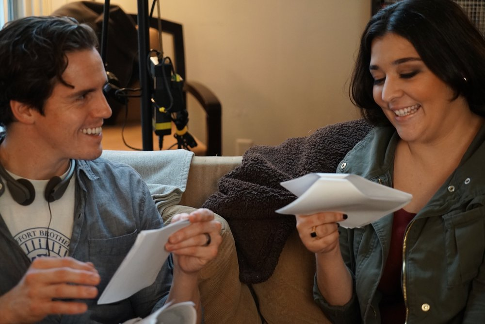 GMR BTS - Director Christopher Zatta and Actress Mia-Carina Mollicone.jpg
