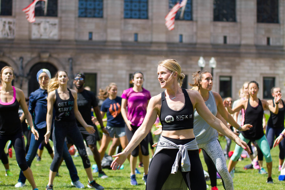 Kick It in Copley Square with Fit University