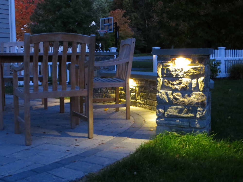 Twilight on Sudbury Patio.