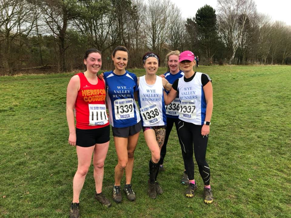 Ladies Team (L to R) - Laura Tootell, Jodie Newell, Cath Watkins (hiding) and Jane Hayde. Also Naomi Prosser - WVR for the day!