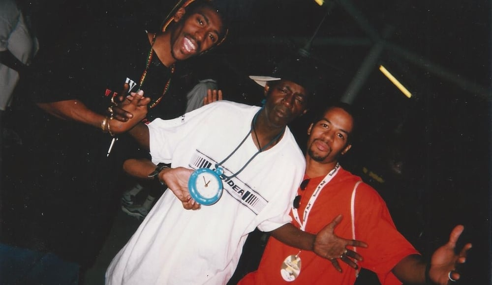 Dana, Flavor Flav and Dwyane