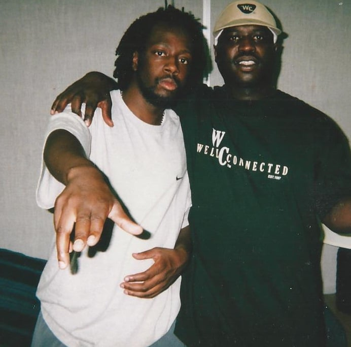 Wyclef Jean and Lucian