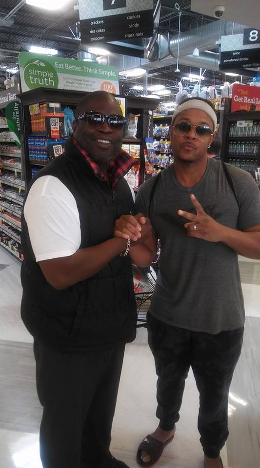 Lucian and Pooch Hall