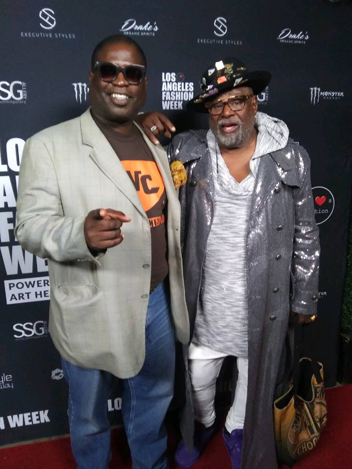 Lucian Nehemiah and George Clinton