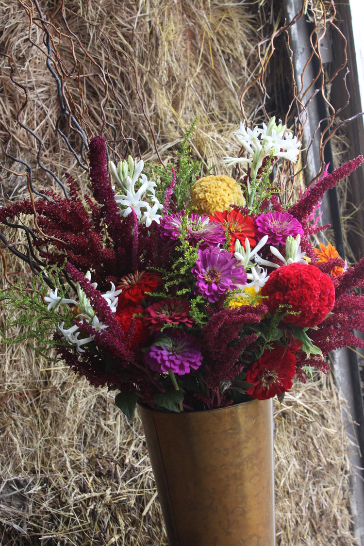 Flower arrangements harvest blooms flower arrangements izmirmasajfo