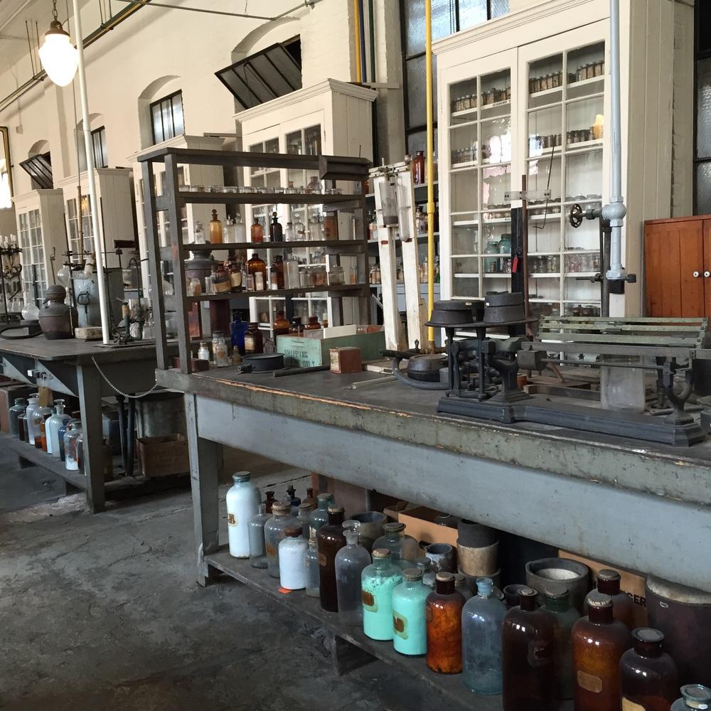 Edison's Chemistry Lab, West Orange, NJ