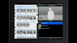The storyboard portion of iMovie trailers.