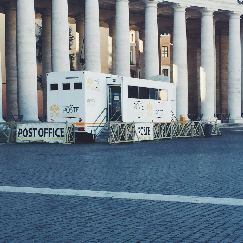 The Post Office in Vatican City