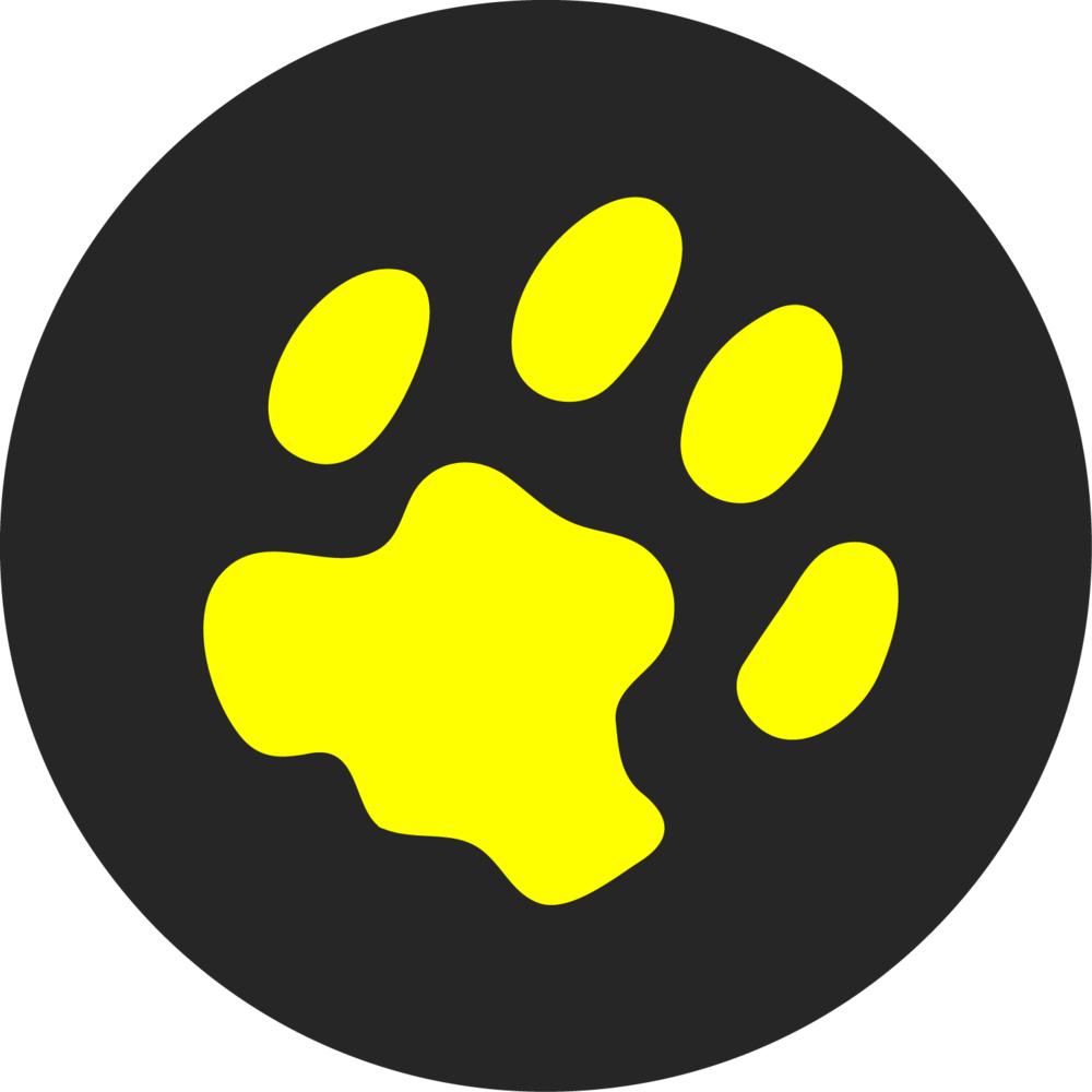 ocelot media vector logo design yellow black 2
