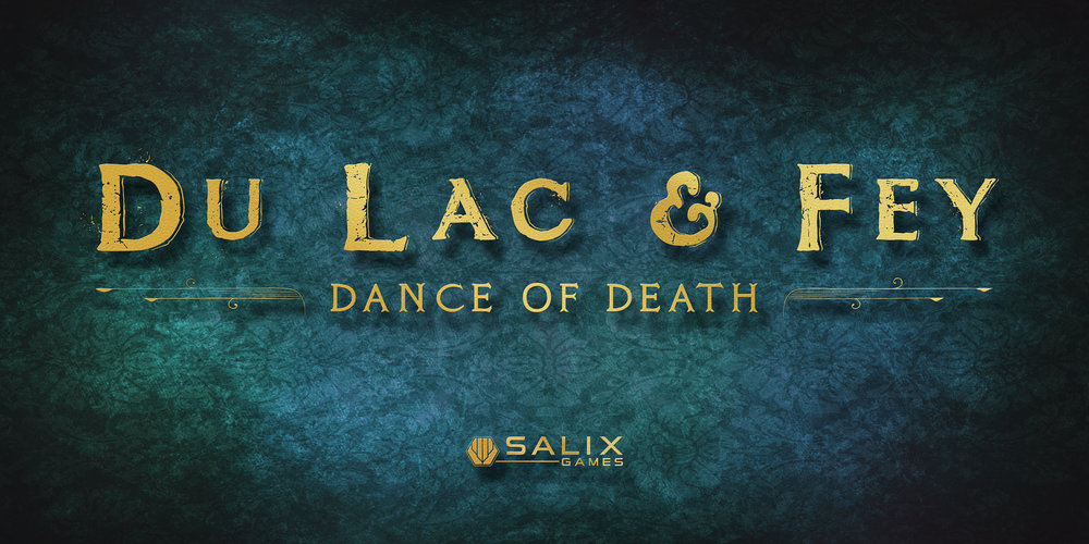 Du Lac and Fey banner design graphic marketing networking comic-con