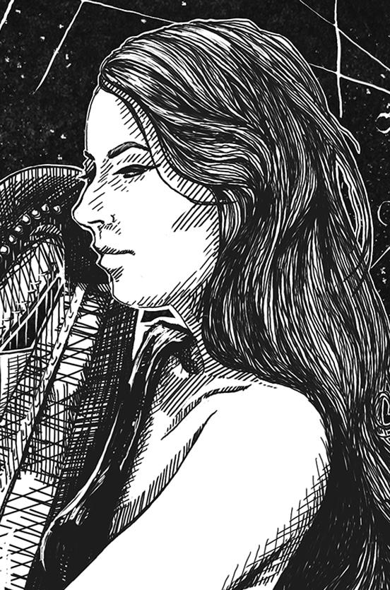 amy turk harpist music alice wonderland tentacles thumbnail 3