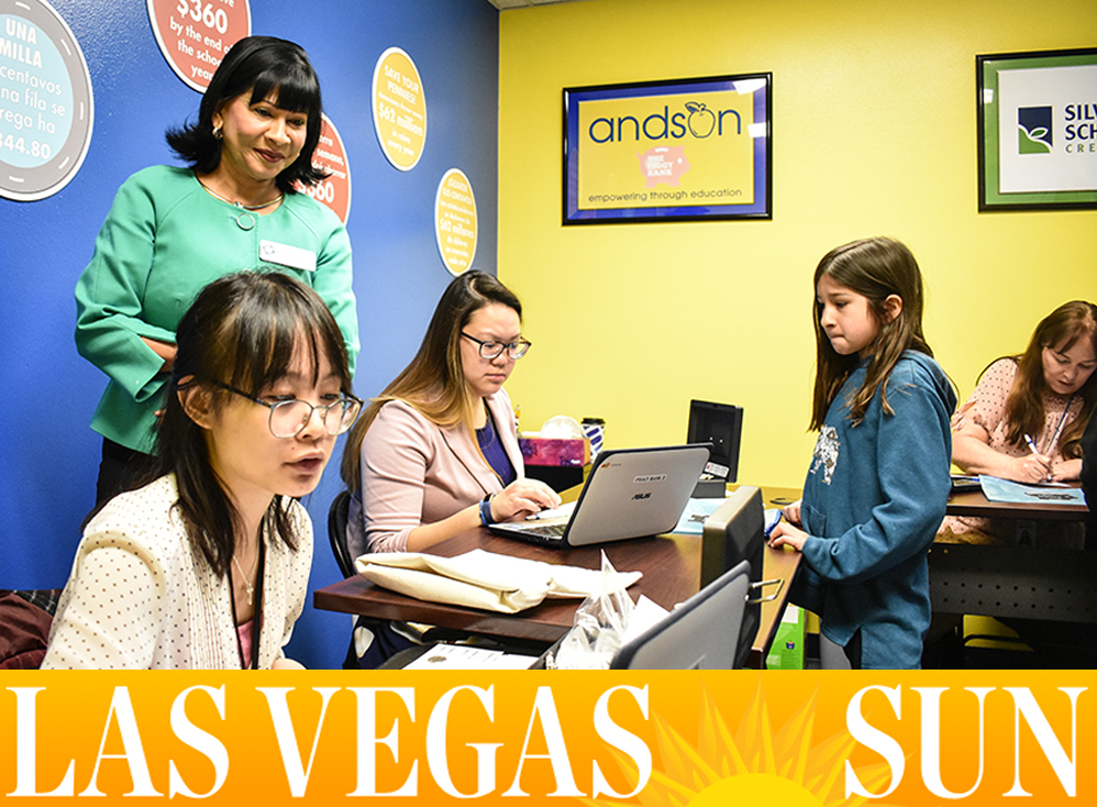 Las Vegas Sun: Group shows grade school students the importance of saving money - Feb. 19, 2018