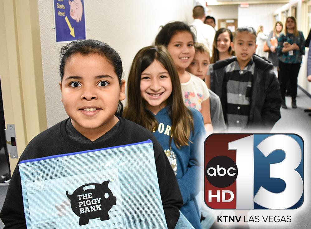 KTNV13 Action News: Las Vegas schools launching 'Piggy Bank' programs -Jan 31, 2018