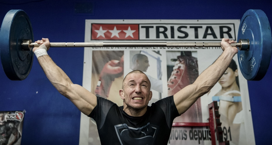 GSP performing a barbell snatch - an exercise that can fall under SPE.